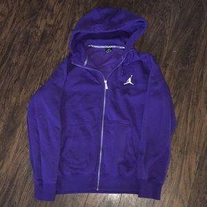 Like new Air Jordan zip up hoodie